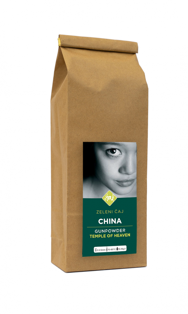 Zeleni Čaj CHINA GUNPOWDER TEMPLE OF